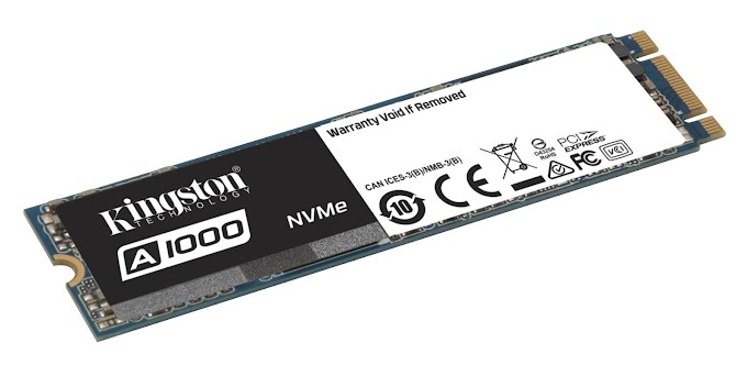 Kingston Unveils Entry-Level NVMe PCIe SSD