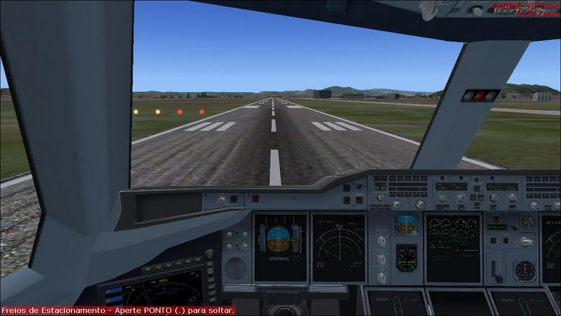 Airbus a330 azul Para Fsx