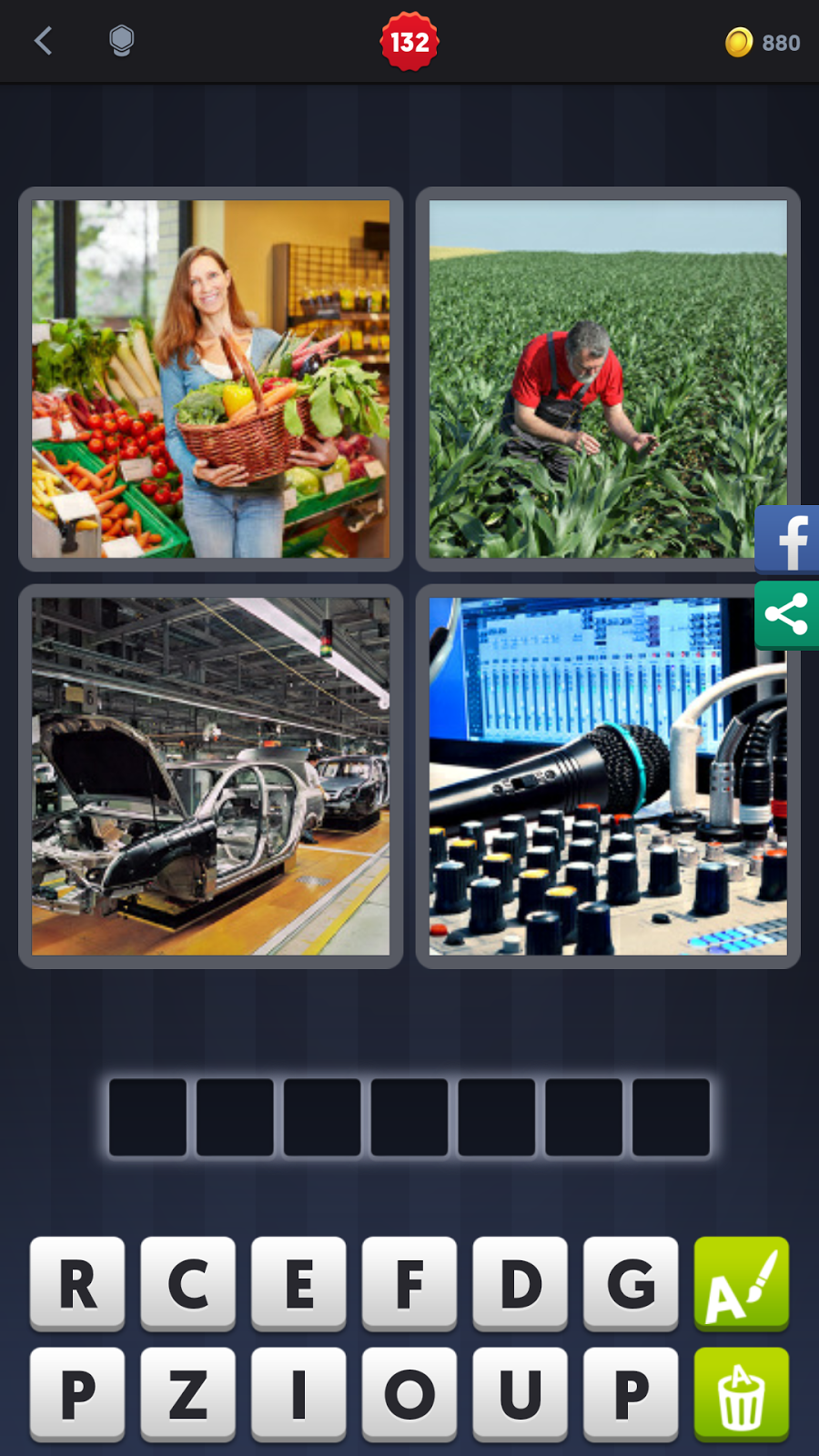 4 Pics 1 Word Answers Solutions Level 132 Produce