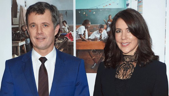 Crown Princess Mary of Denmark and Crown Prince Frederik of Denmark attended Denmark's biggest fundraising event, Danmarks Indsamling (National Collection)
