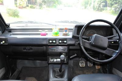 Interior Dashboard Isuzu Panther Kotak