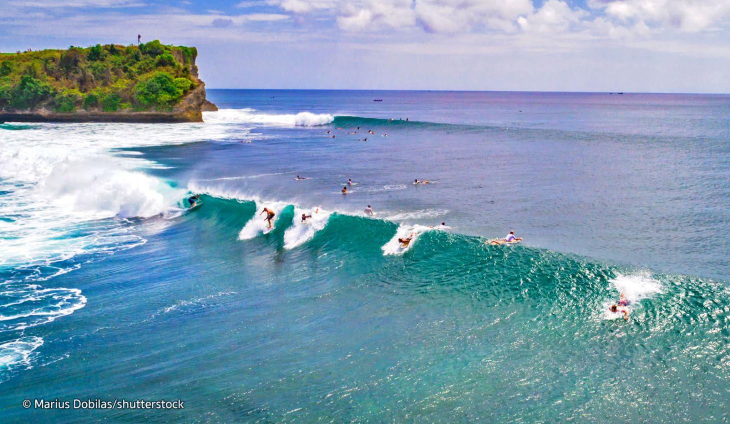 Kuta Bali Beach Surfing Wallpaper Pixell Wallpapers