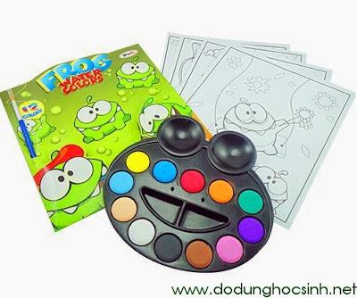 Bộ màu khô con ếch 12 màu WinQ - Frog