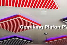 Lowongan Gemilang Plafon PVC Pekanbaru Maret 2019