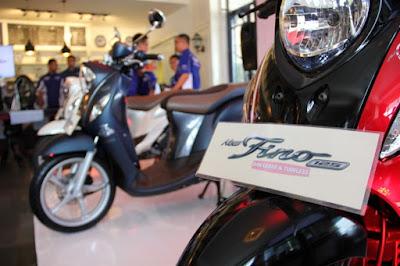 New Yamaha Fino 125 Blue Core