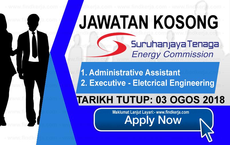 Jawatan Kerja Kosong ST - Suruhanjaya Tenaga logo www.ohjob.info www.findkerja.com ogos 2018