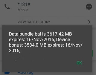 MTN Double Data Bonus without Tweaking IMEI.