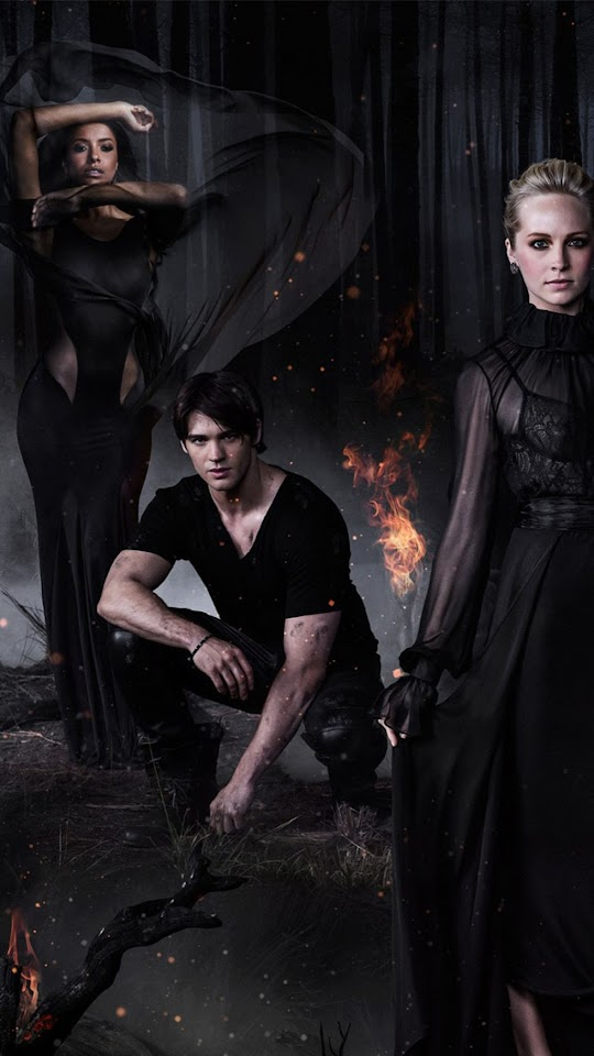 The Vampire Diaries Season 5   Galaxy Note HD Wallpaper