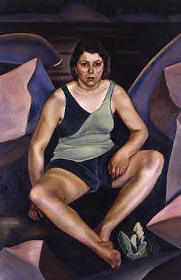 Femme au bord de la mer (1930), Prudence Heward,