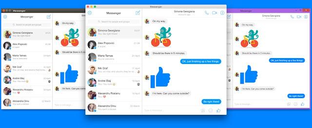 تحميل برنامج ماسنجر فيس بوك للكمبيوتر مجانا Messenger for Desktop