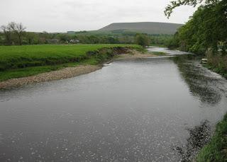 River Ribble, Sawley, Lancashire, England