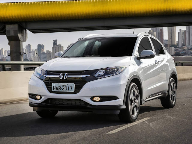 15 SUV's compactos mais vendidos no Brasil - Jun/2018