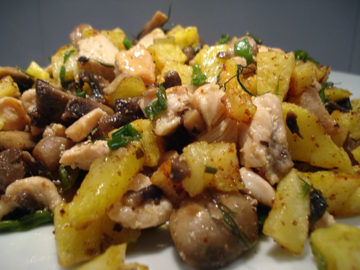 Patata aceite dieta disociada