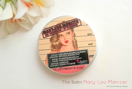 The Balm Mary - Lou Manizer Review, Swatch & FOTD