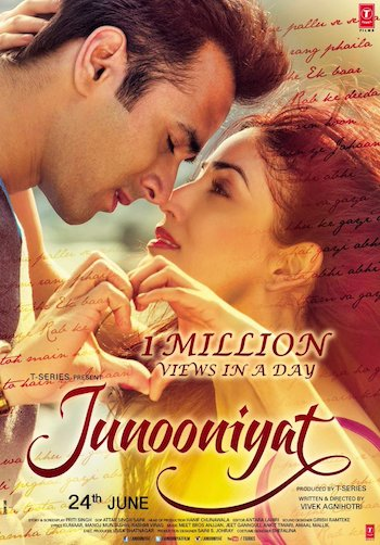 Junooniyat (2016) Hindi 350MB WEB-DL 480p Esubs