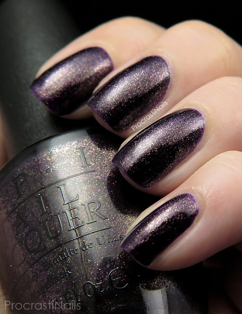 OPI First Class Desires from the 2014 Gwen Stefani Holiday Collection