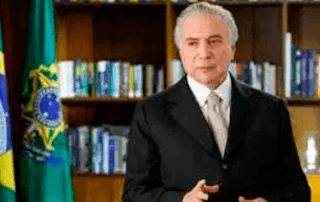 Temer vem à Paraíba para inaugurar obra da Transposição do Rio São Francisco
