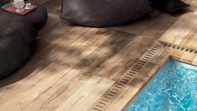 New tiles design with DOLPHIN series - Wood look