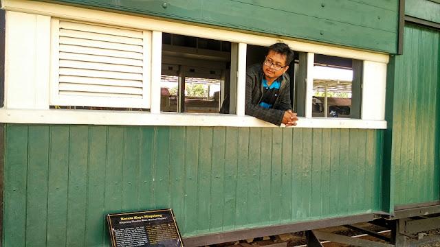 kereta kayu museum ambarawa