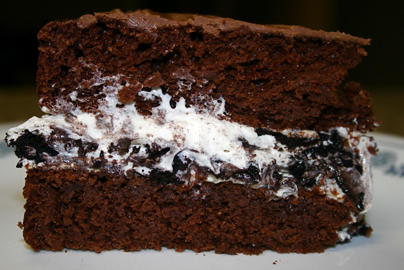 Sugar Amp Spice Chocolate Oreo Cookie Cake