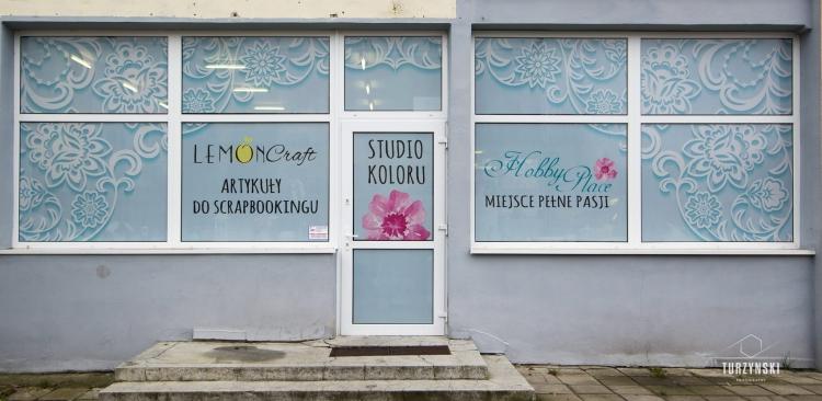 Hobby Place wejscie do sklepu dla kreatywnych