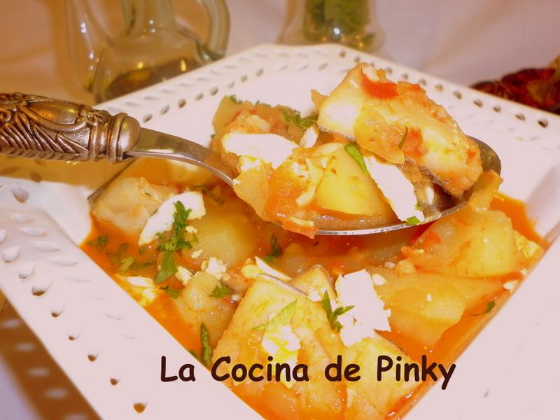La cocina de pinky guiso de bacalao con patatas for Cocina bacalao con patatas