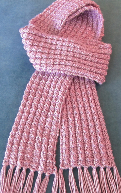 We Like Knitting Free Patterns : We like knitting heartwarming knit scarf free pattern