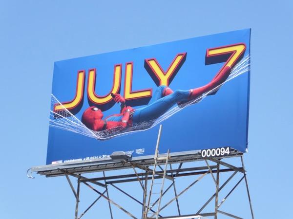 Spiderman Homecoming billboard