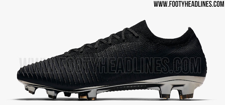 86b096501 All-New  Stealth  Nike Flyknit Ultra Football Boot Released - Leaked ...