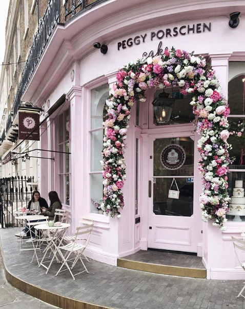 Peggy Porschen Cake Shop London UK