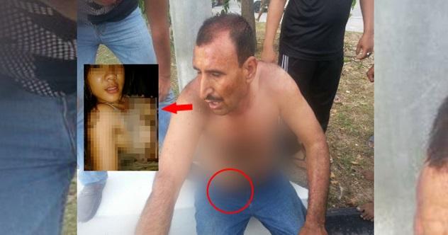 Foto Warga Pakistan Kantoi Rogol Gadis Melayu Dibelasah Oleh Keluarga Mangsa Di Puncak Alam!
