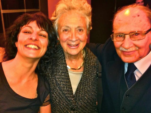 Amb Marta Ferrusola i Jaime Arias