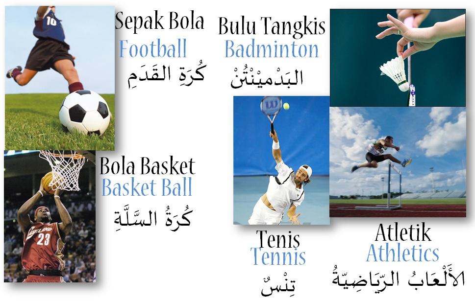 kosakata bahasa arab tentang sepak bola