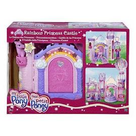 My Little Pony Rarity Building Playsets Rainbow Princess Castle G3 Pony