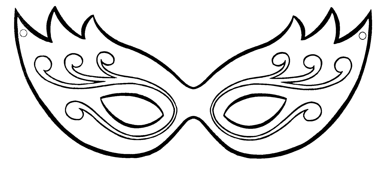 Mascaras De Carnaval Para Imprimir So Escola
