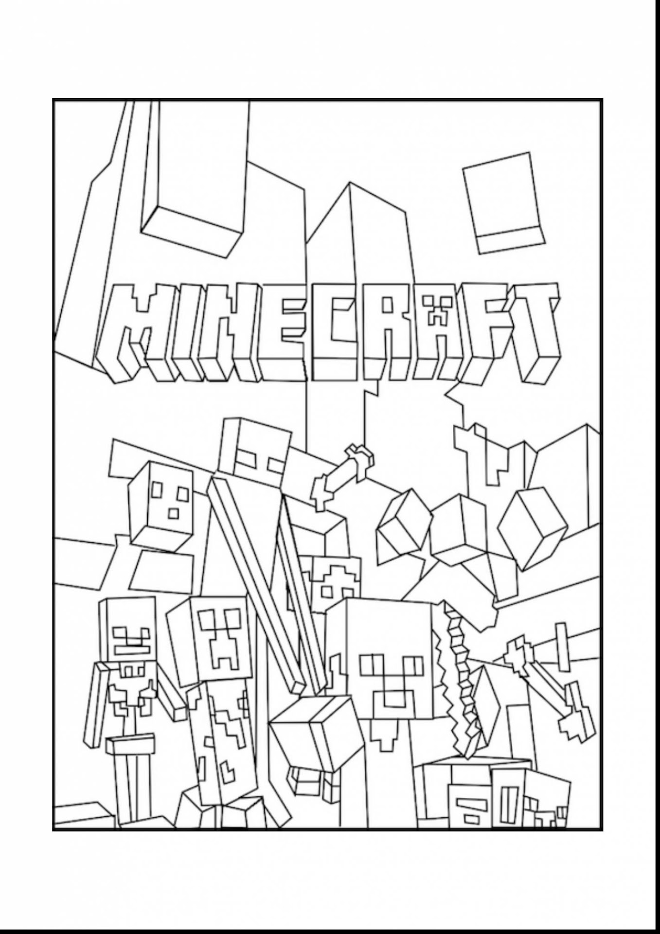 Top Minecraft Herobrine Coloring Pages Photos - Free ...
