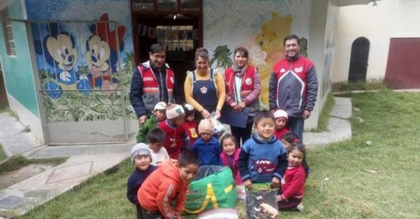 Instituciones Educativas de Pasco reciben kits de emergencia