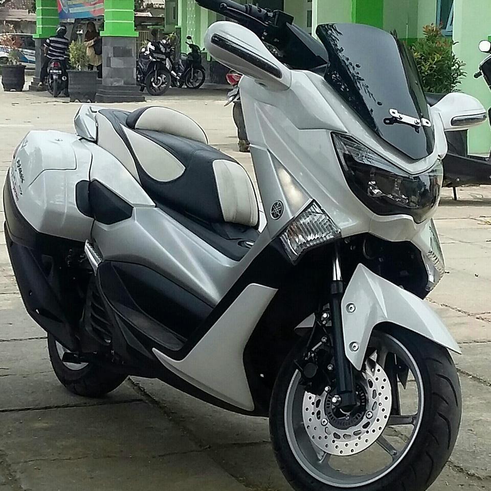 Modifikasi Yamaha Nmax Touring Terpopuler 2017  Modifikasi Motor