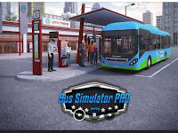 Download Game Bus Simulator v1.4 PRO 2017  Cracked APK + MOD  (DATA) Terbaru 2016