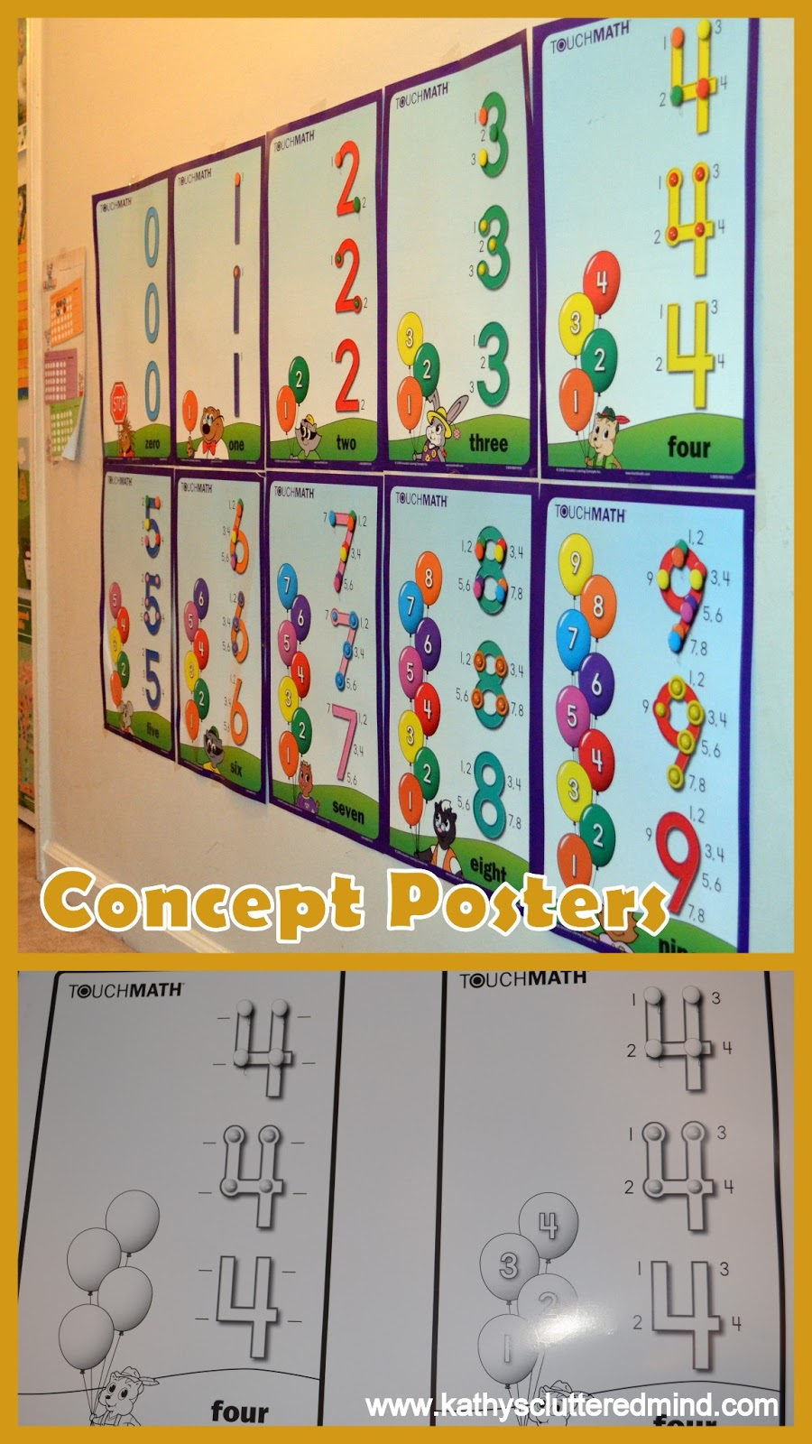Touch Math Worksheets Pdf   touch math worksheets 1st ...