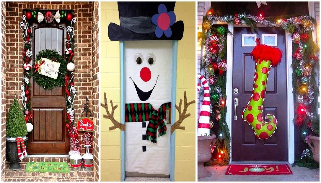 Manualidades Para Decorar Puertas En Navidad.Ronycreativa Blog De Manualidades 30 Ideas Para Decorar Tu