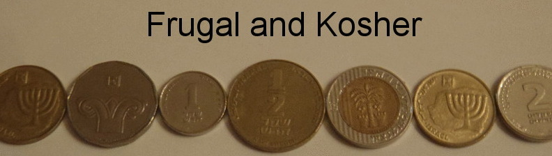 Kosherfrugal.com - Frugal Living in Israel