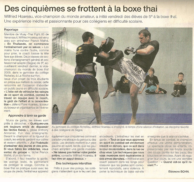 ARTICLE OUEST FRANCE DU 04/04/11
