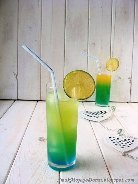 Kolorowy drink z  Malibu