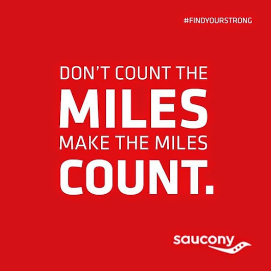 Don't Count The Miles. Make The Miles Count.