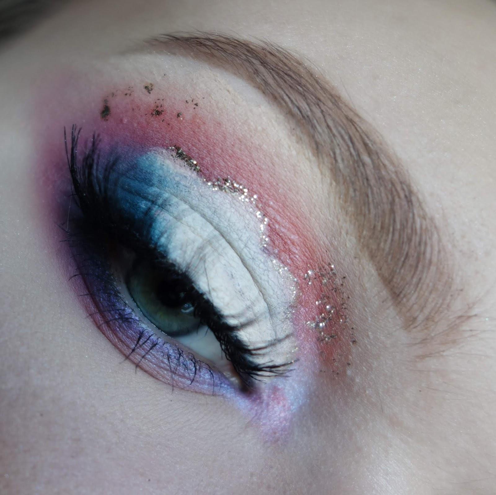 Cloudy Makeup | Chmurki na powiekach | Makijaż paletą MIYO x BEAUTYVTRICKS INSTA GLAM