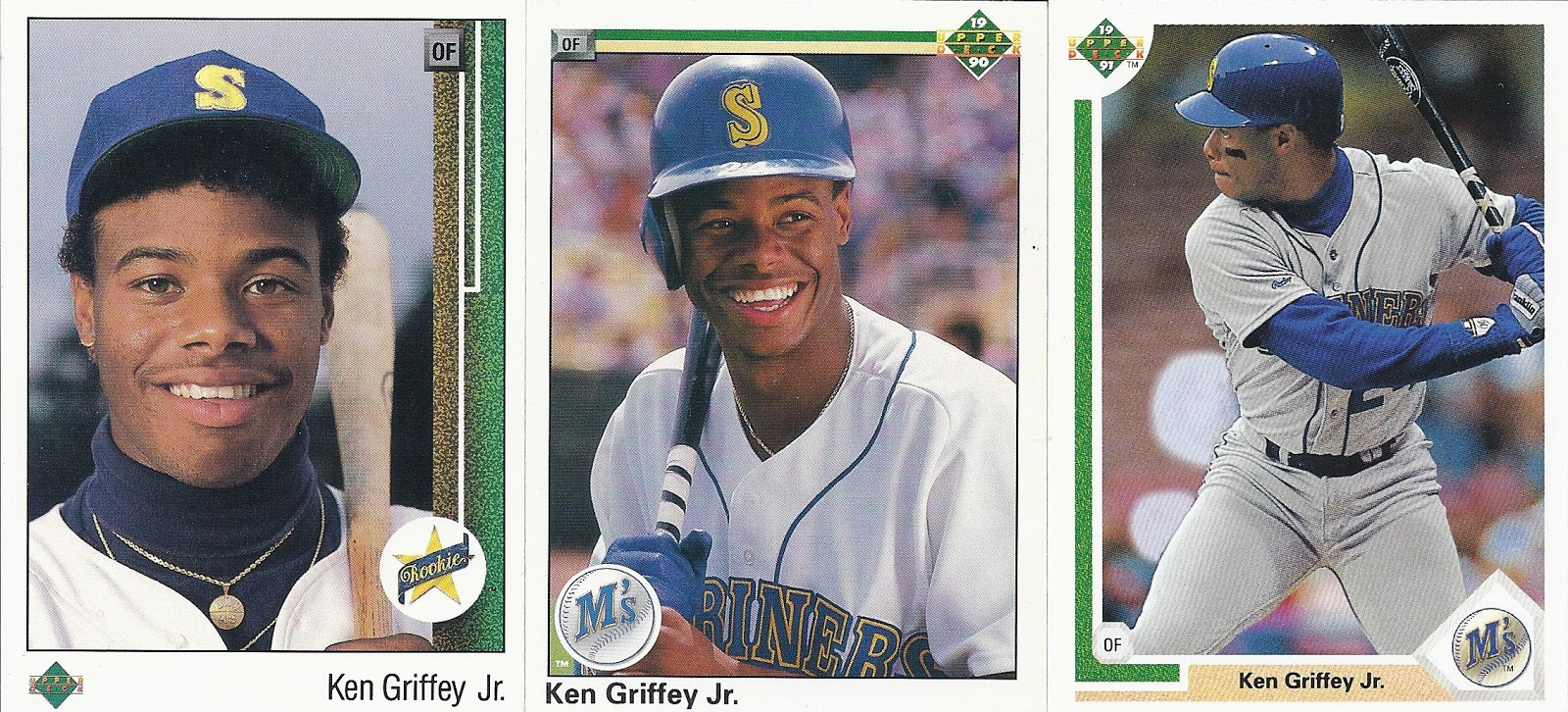 The Junior Junkie The Baseball Cards Of Ken Griffey Jr And Beyond