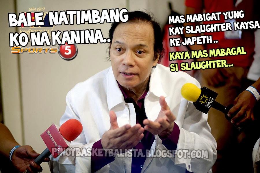Funny Memes Tagalog 2013 : Funny meme : barangay ginebra vs san mig coffee mixers game 7