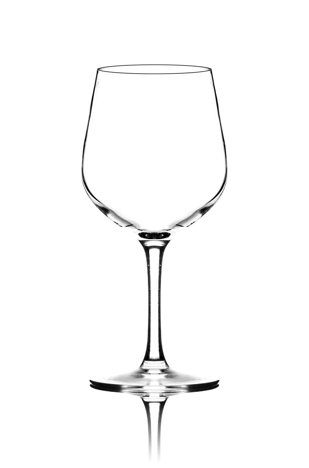 Съемка бокала для вина
