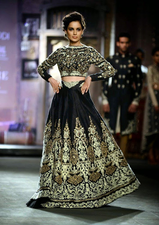 High Waisted Lehenga's - A New Wave of Design...